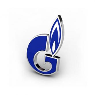 Золотой значок Газпром