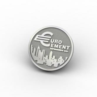 Значки из серебра Евроцемент