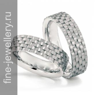 Обручальные кольца в виде браслетов