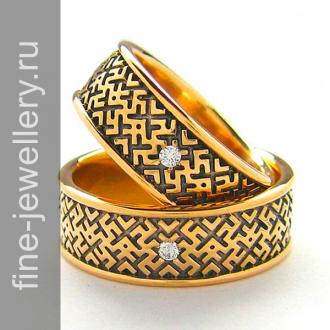 Славянские обручальные кольца «обережные»