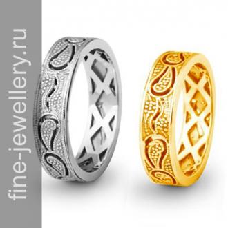 Обручальные кольца «турекцие огурцы»