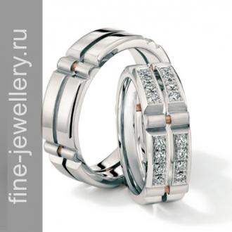 Обручальные кольца в стиле Хай-тек
