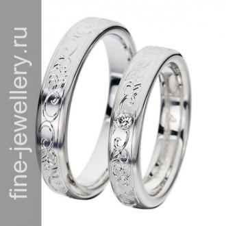 Ажурные обручальные кольца