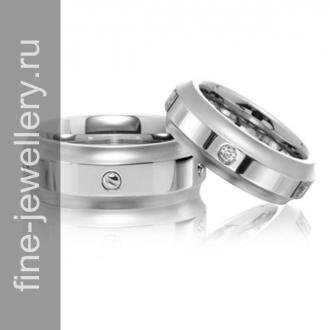 Обручальные кольца с винтами